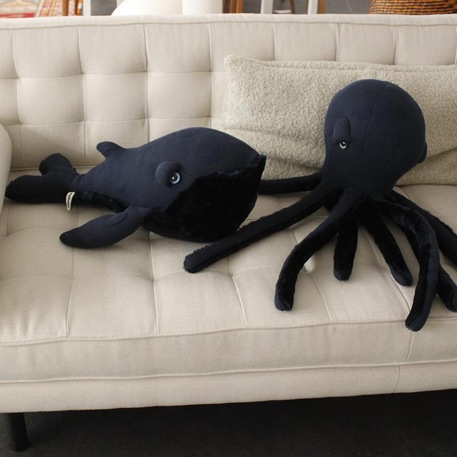 "Cuddle Toy ""Small Night Octopus"""