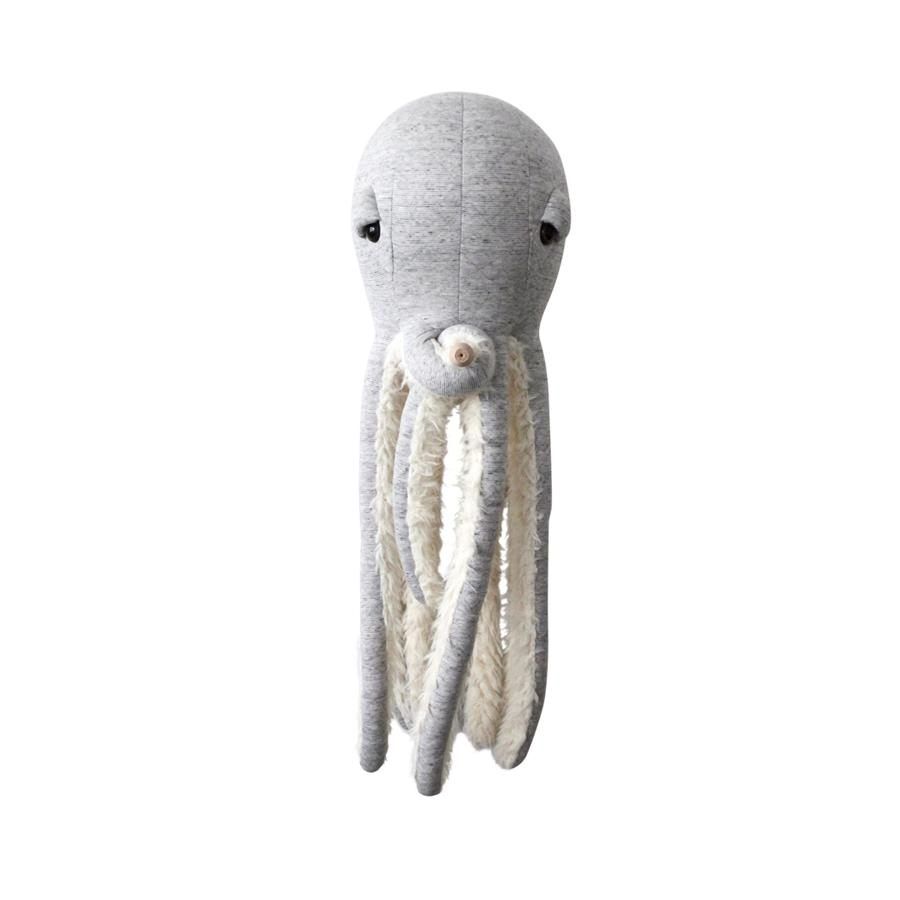 "Cushion Animal ""Big GrandPa Octopus"""