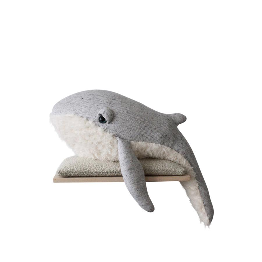 "Cushion Animal ""Big GrandPa Whale"""