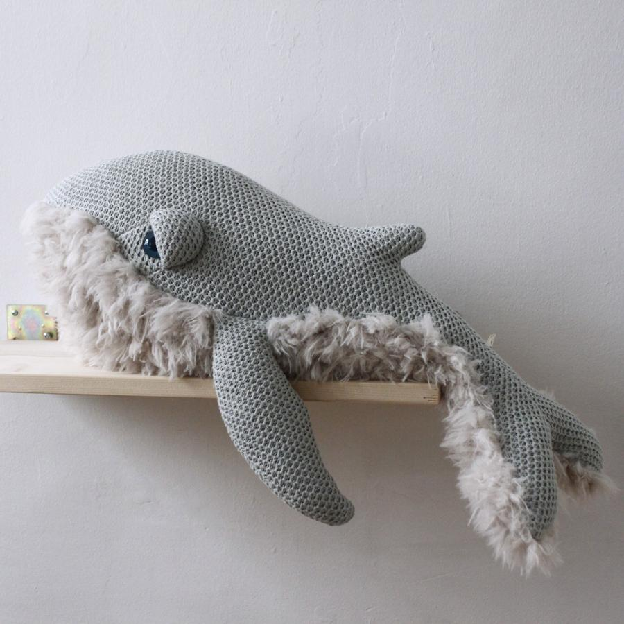 "Cushion Animal ""Small GrandMa Whale"""