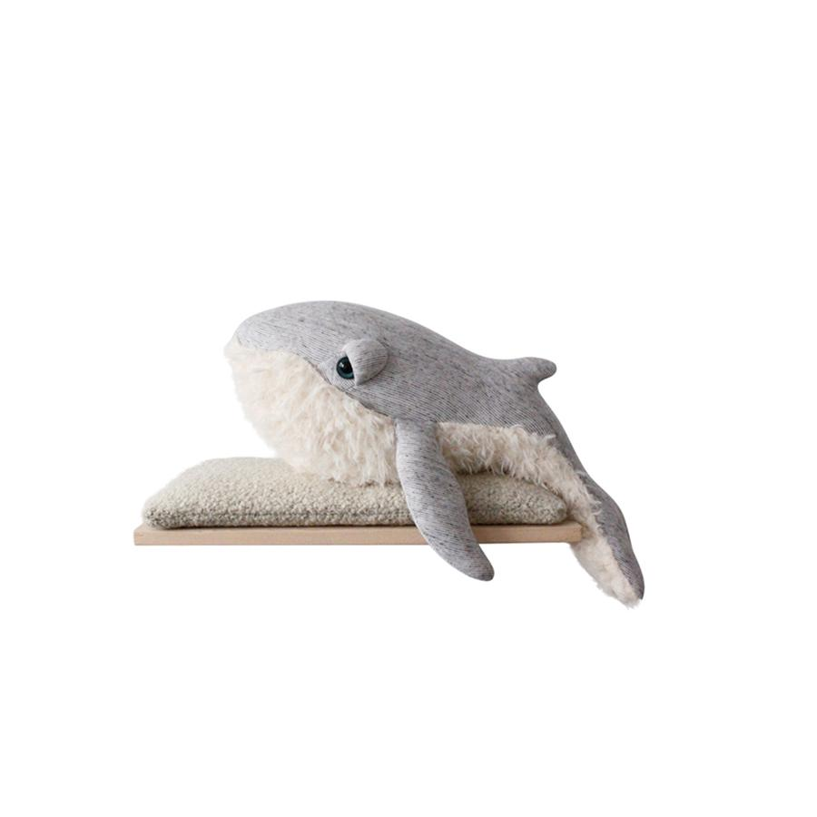 "Cushion Animal ""Small GrandPa Whale"""