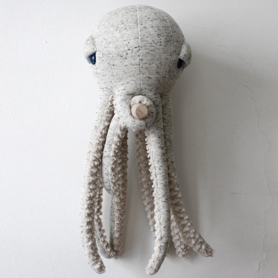 "Cushion Animal ""Small Original Octopus"""