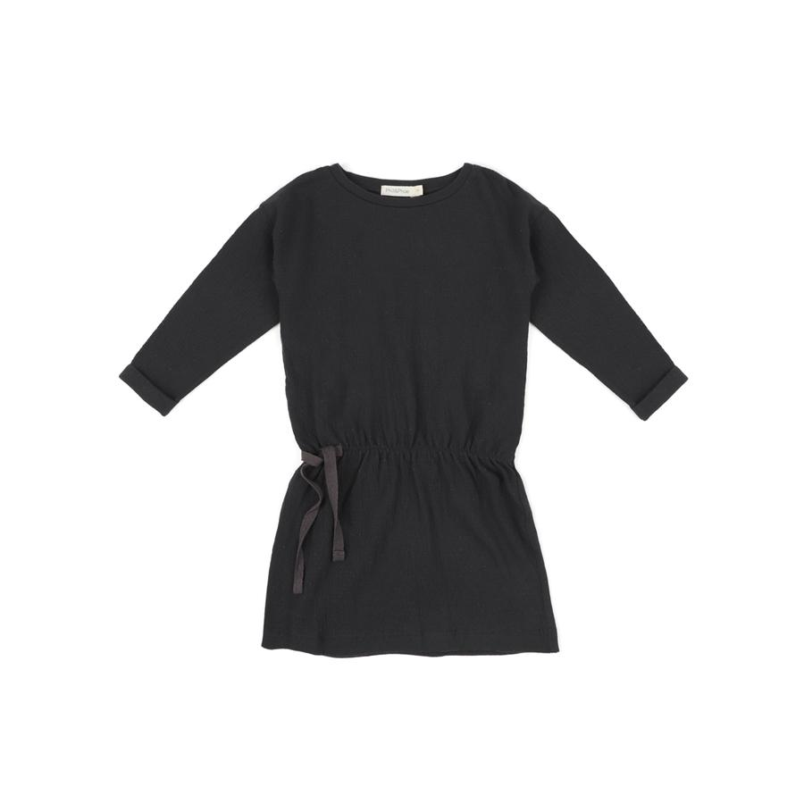 "Blouse Dress ""Textured Charcoal"""