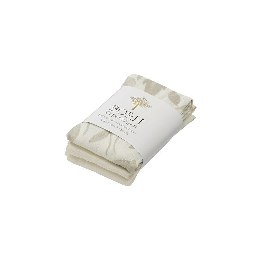 "Muslin Cloth ""Flora"" 3er Pack"