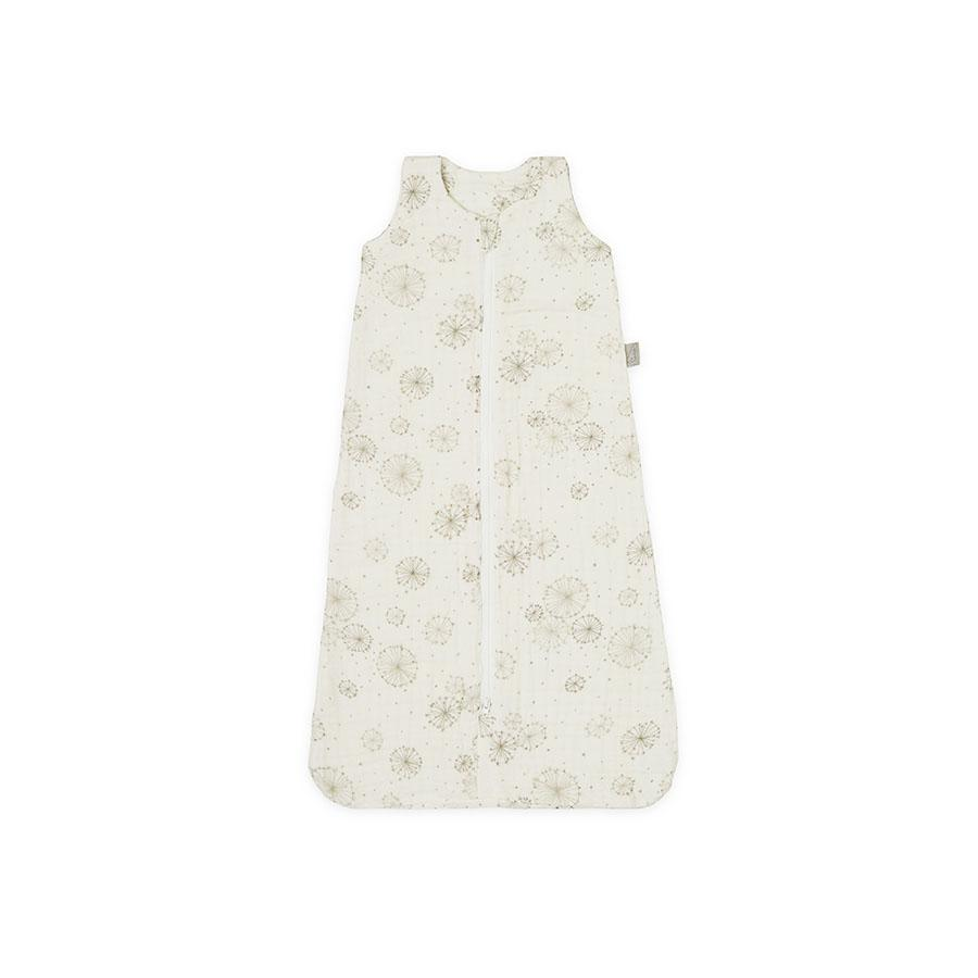 "Baby Sleeping Bag ""Dandelion Natural"" Made of Muslin Fabric"