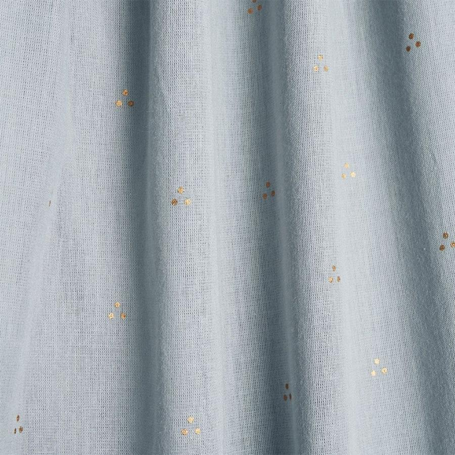 "Bed Canopy ""Dot Blue Mist"""