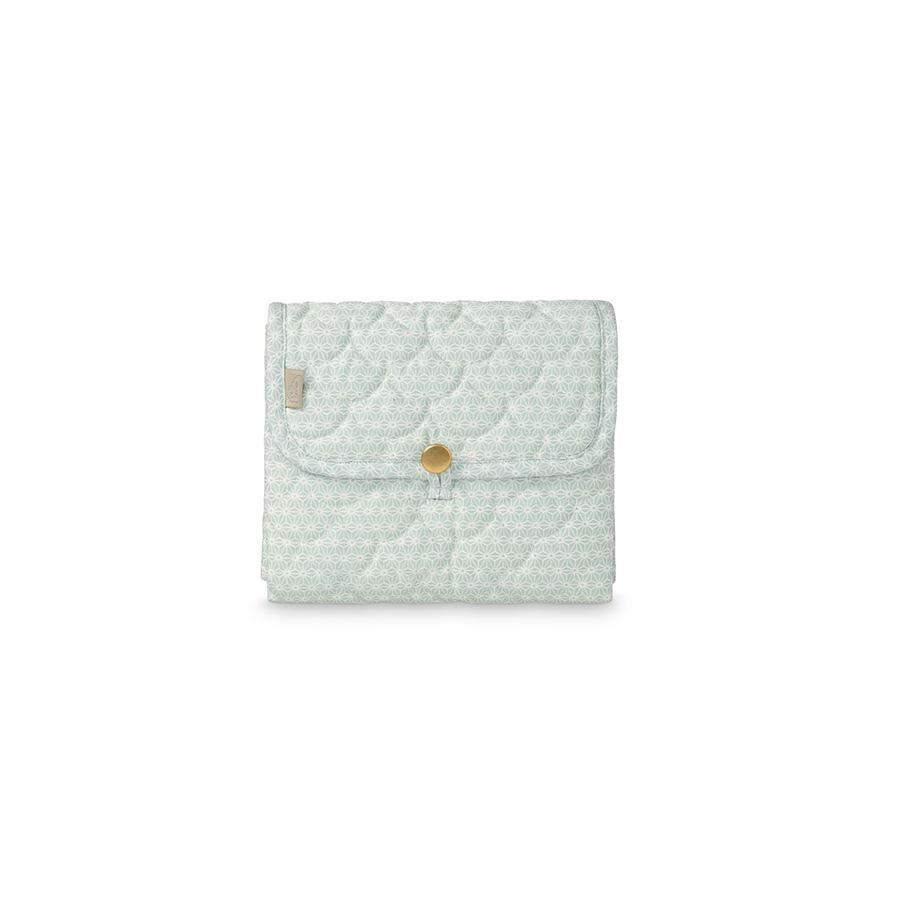 "Changing Pad ""Sashiko Mint"""