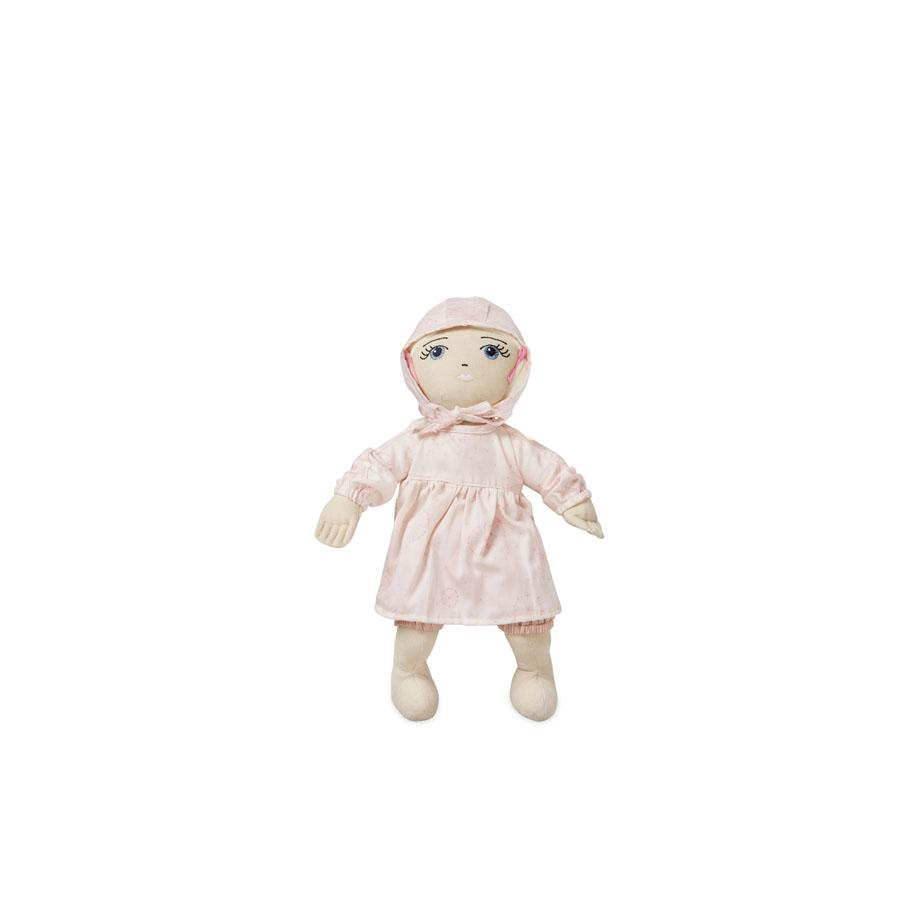 "Doll's Cloth Set ""Dandelion Rose"""