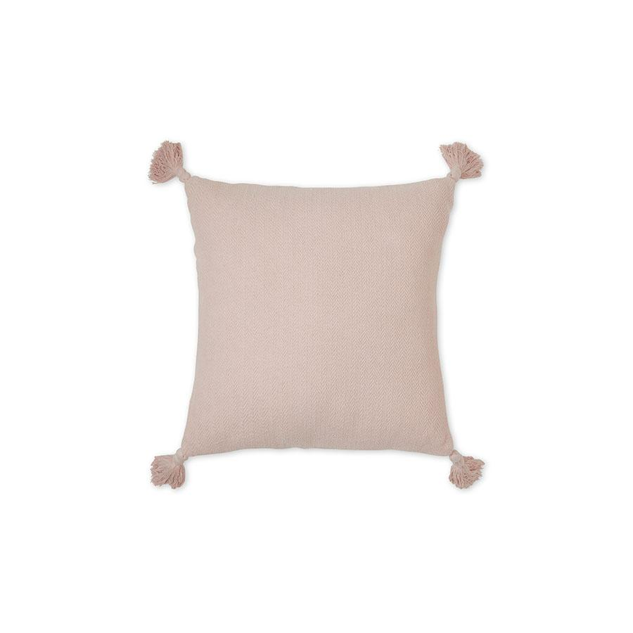 "Cushion ""Herringbone Dusty Rose"""