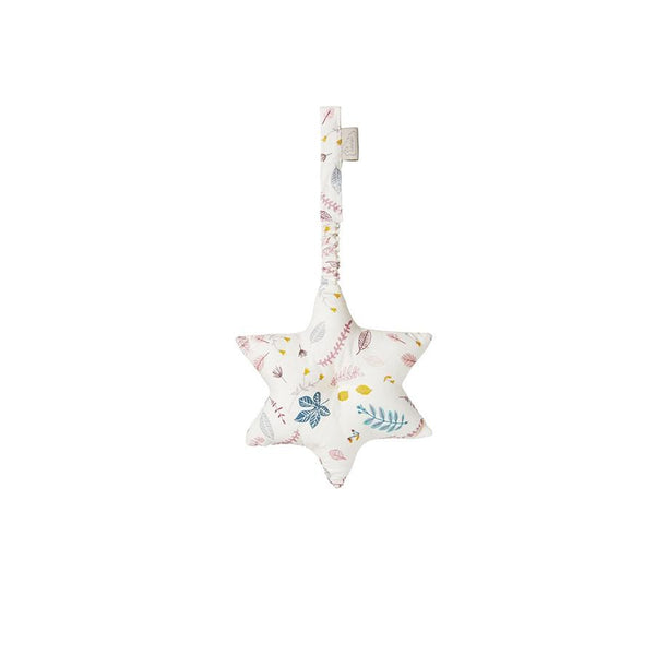 "Gym Toy Mobile ""Star Pressed Leaves Rose"""