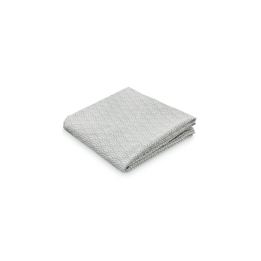 "Muslin Cloth ""Grey Wave Medium"""