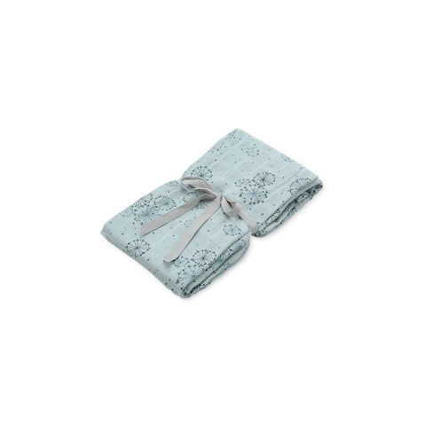 "Muslin Cloth ""Swaddle Light Dandelion Petrol"""