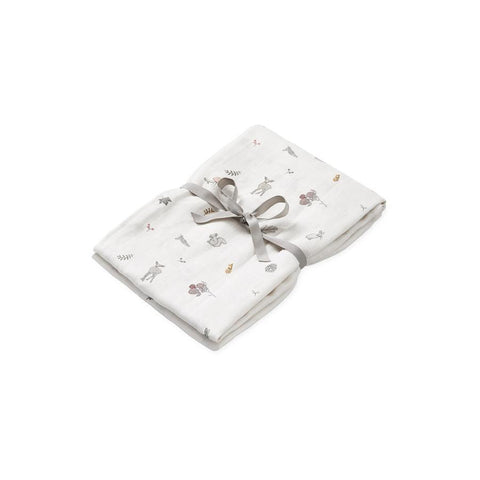 "Muslin Cloth ""Swaddle Light Fawn"""