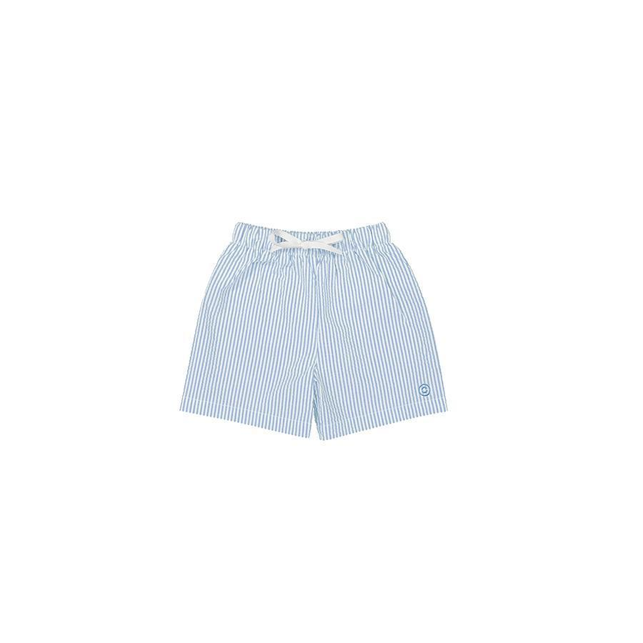 "Swimming Shorts ""Biarritz Seersucker Ash / Slate"""
