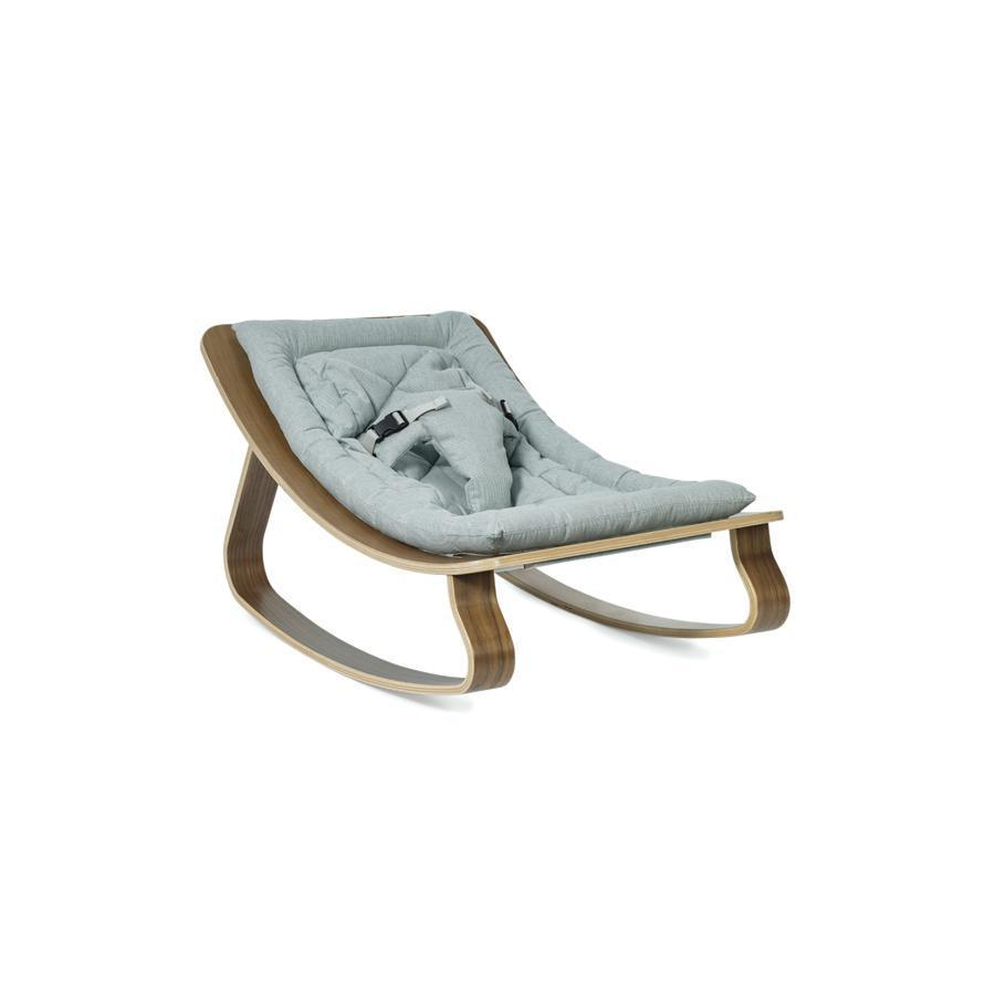 "Baby Rocker ""Levo Walnut Aruba Blue"""