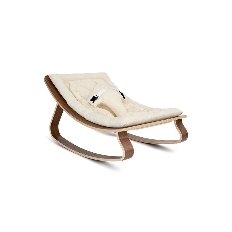 "Baby Rocker ""Levo Walnut White Organic"""