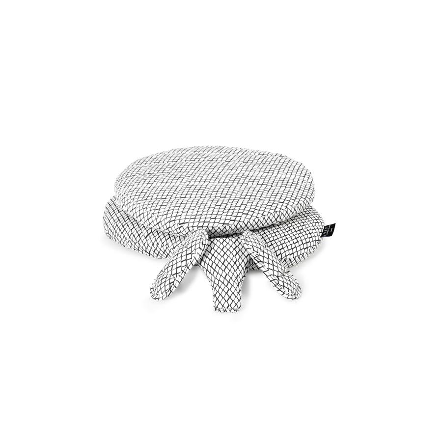 "High Chair Cushion ""Tibu Diamond Black & White"""