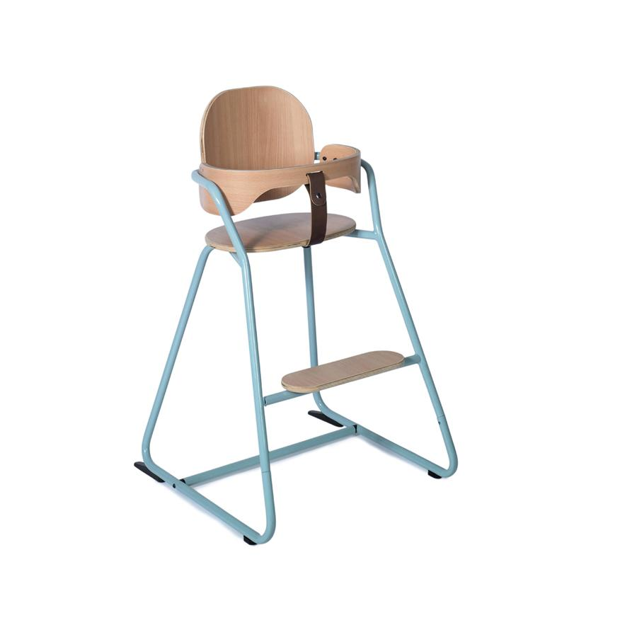 "High Chair ""Tibu Aruba Blue"" with Baby-Set"