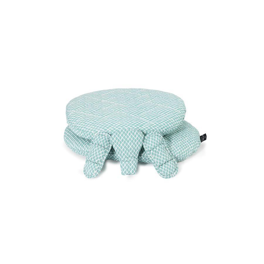 "High Chair Cushion ""Tibu Diamond Blue"""