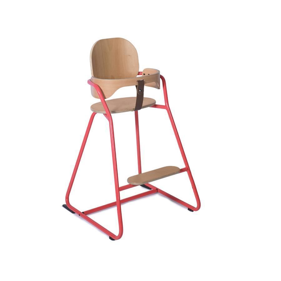 "High Chair ""Tibu Bright Red"" with baby set"