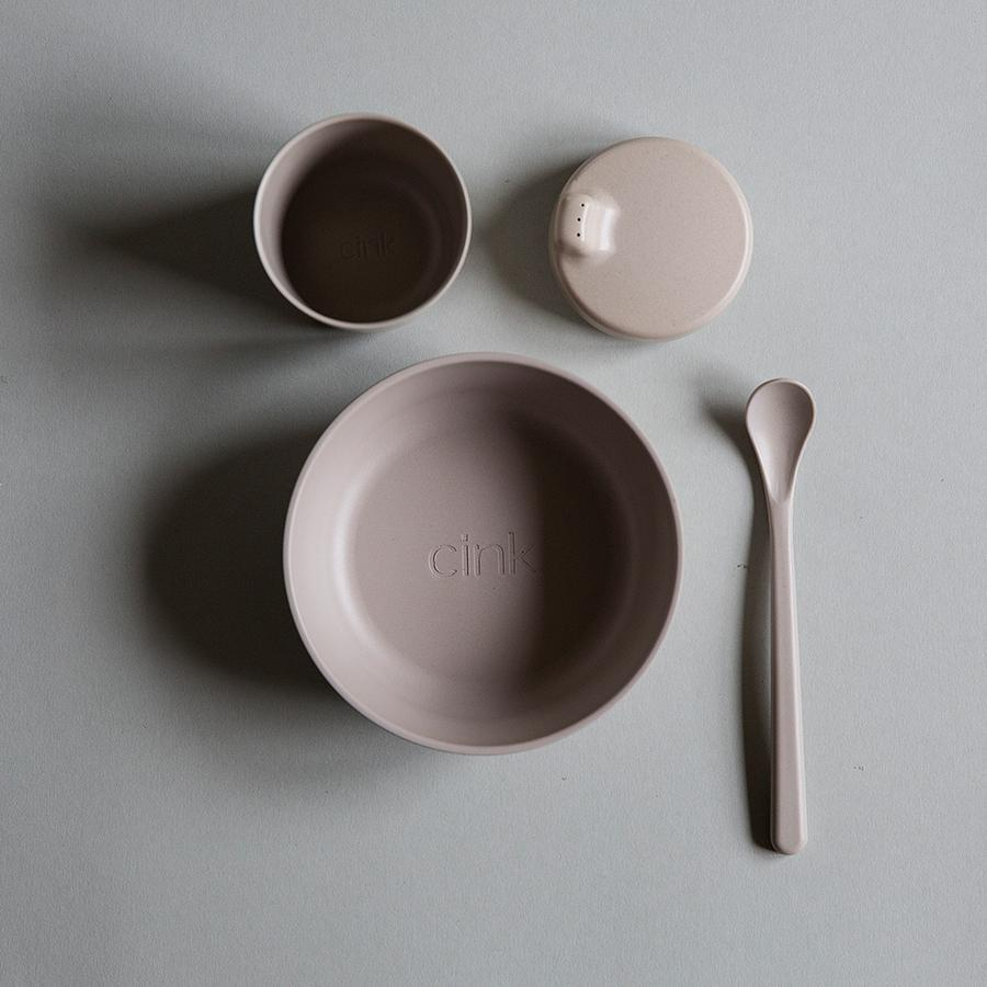 "Bamboo Tableware Set ""Fog"" for Babies"