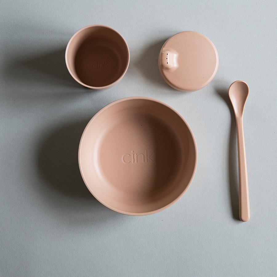 "Bamboo Tableware Set ""Rye"" for Babies"