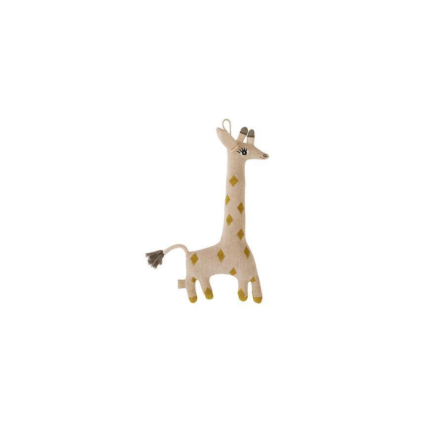 "Cushion ""Darling Baby Guggi Giraffe"""