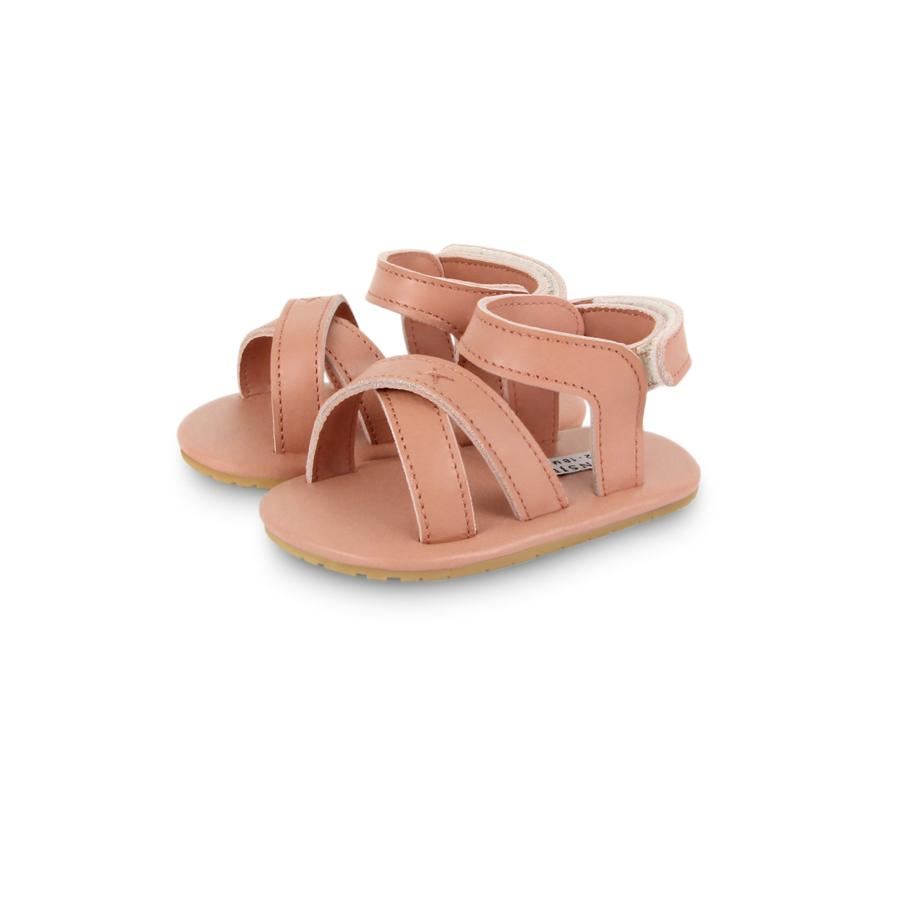 "Baby Sandals ""Giggles Rose Dawn Leather"""