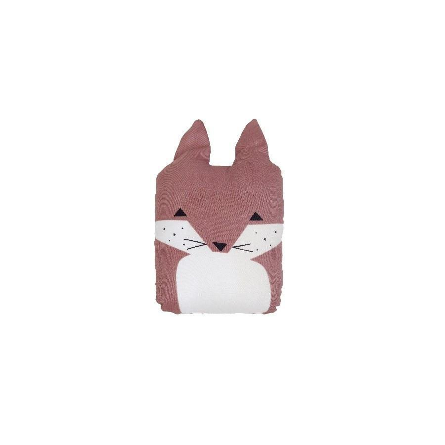 "Animal Cushion ""Friendly Fox"""