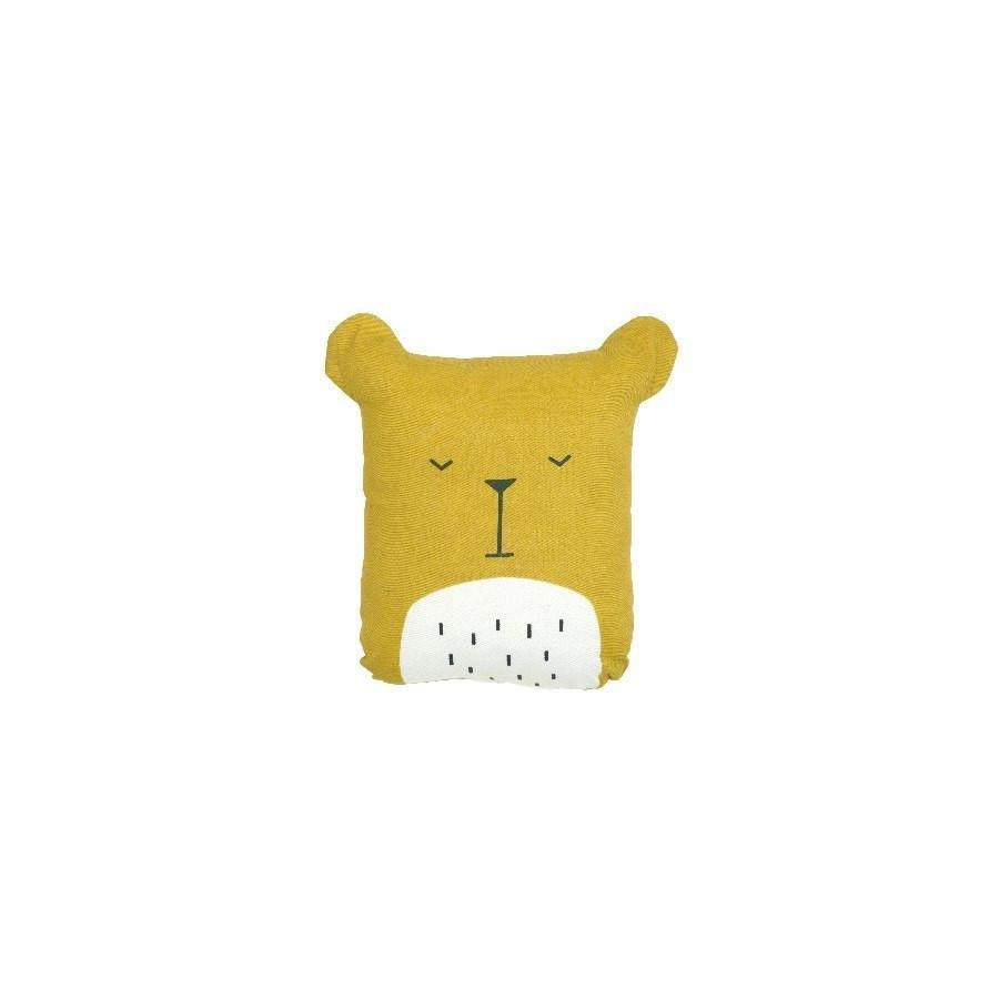 "Animal Cushion ""Lazy Bear"""