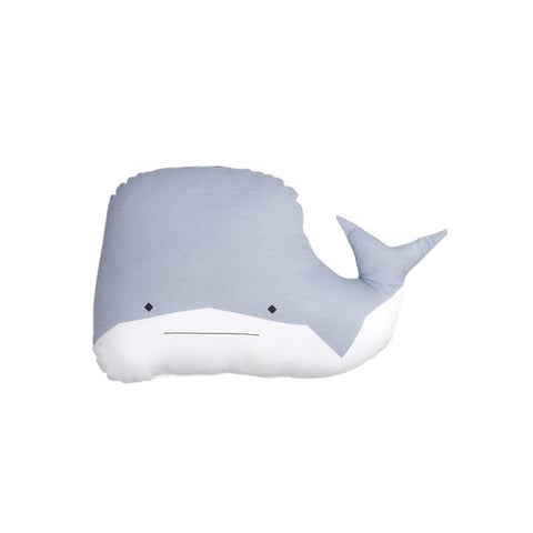 "Animal Cushion ""Witty Whale"""