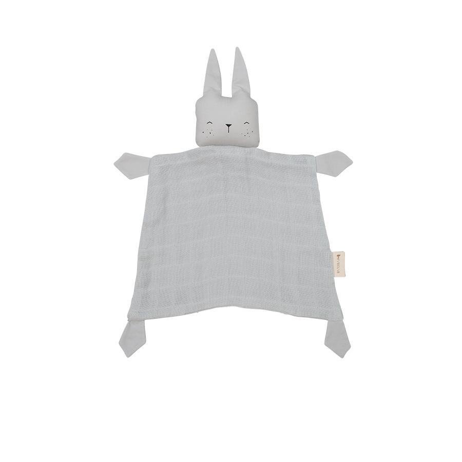 "Cuddle Cloth ""Bunny Icy Grey"""