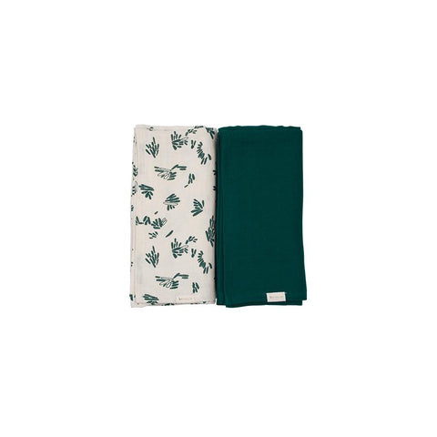 "Muslin Cloth ""Swaddle Forest Floor"" Pack of 2"