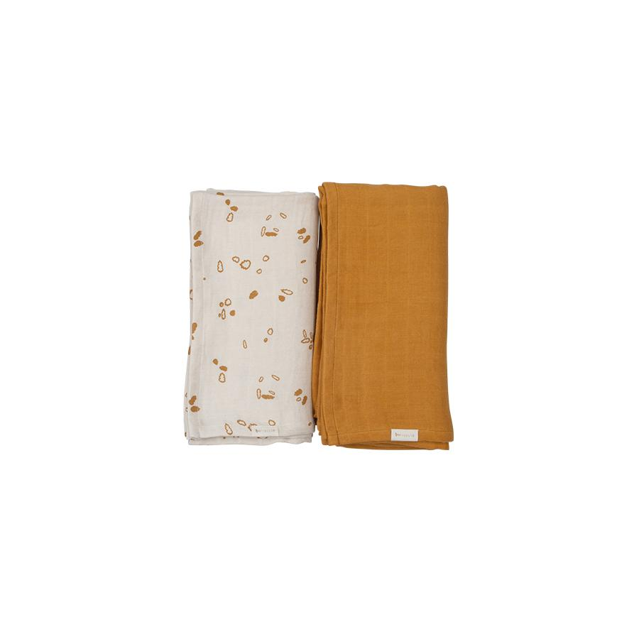 "Muslin Cloth ""Swaddle Pine Cones"" Pack of 2"