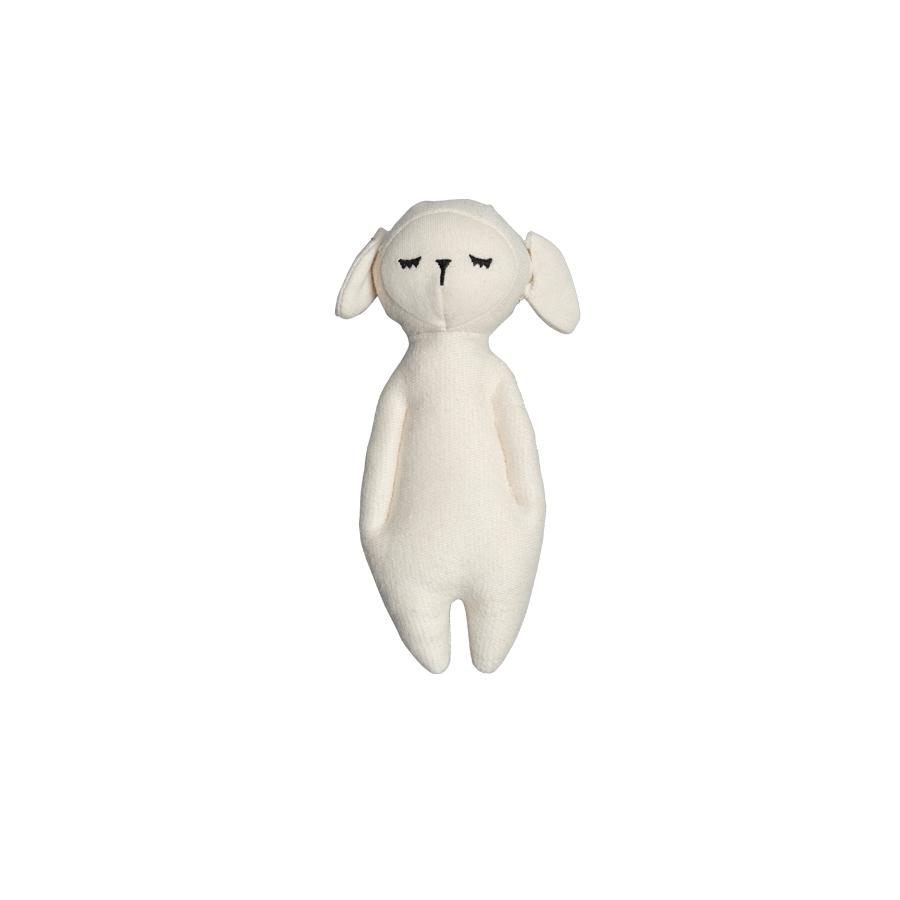 "Rattle Doll ""Sheep White"""