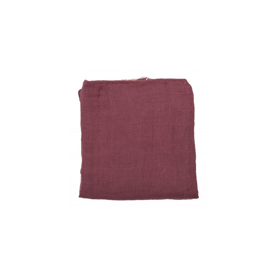 "Muslin Cloth ""Plum"""
