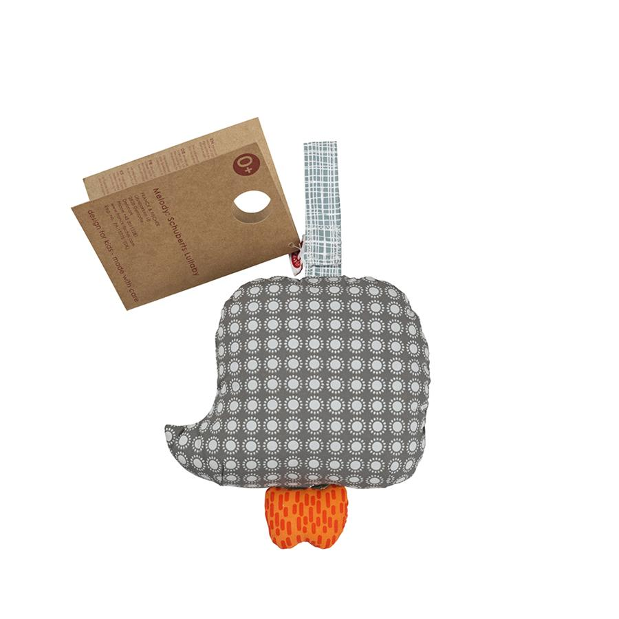 "Baby Mobile ""Else Owl Grey"" with Music"