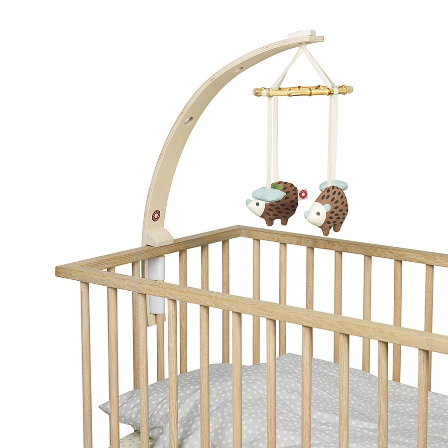 "Baby Mobile Holder ""Wood"" for Baby Bed"