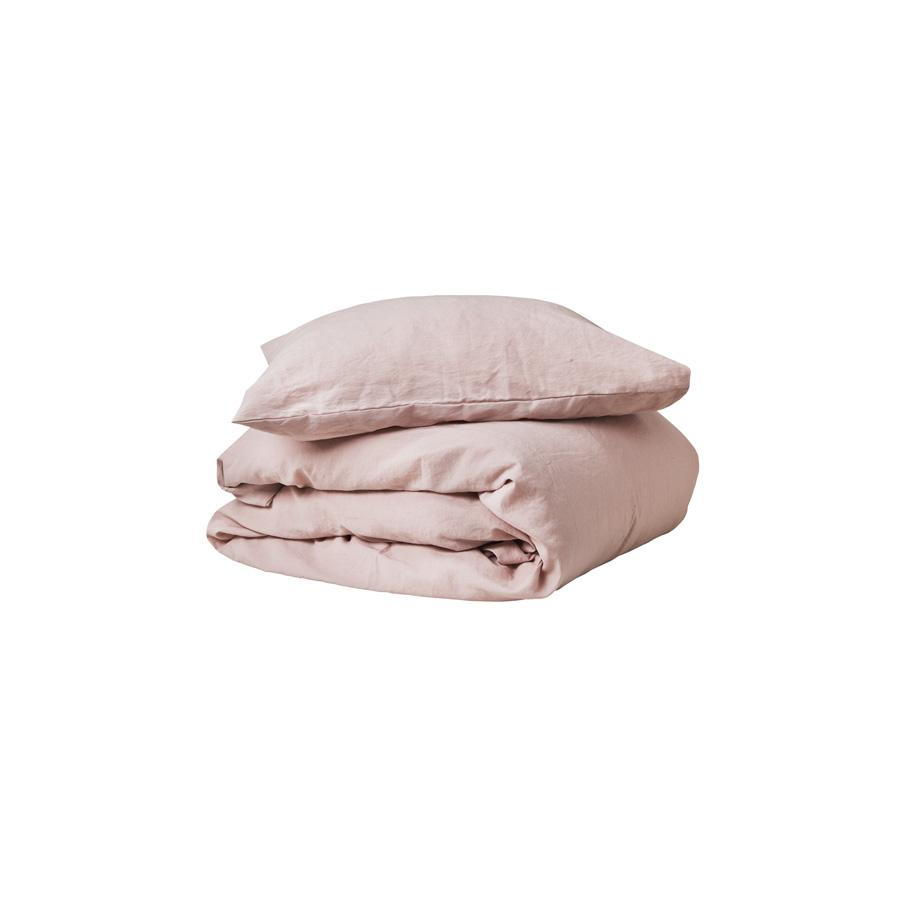 "Bed Linen ""Dusty Pink"" Junior"