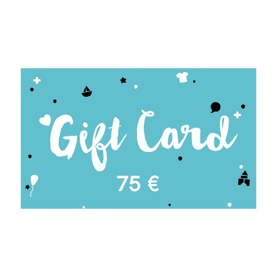 75 € Gift card
