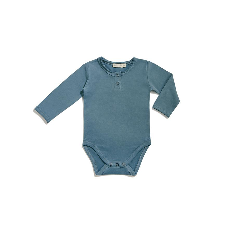 "Long-sleeved body ""Balsam Blue"""