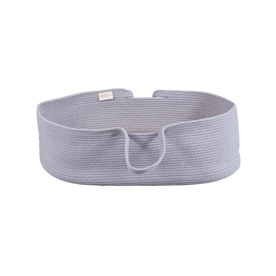 "Moses Basket  ""Rope Dove Grey"""