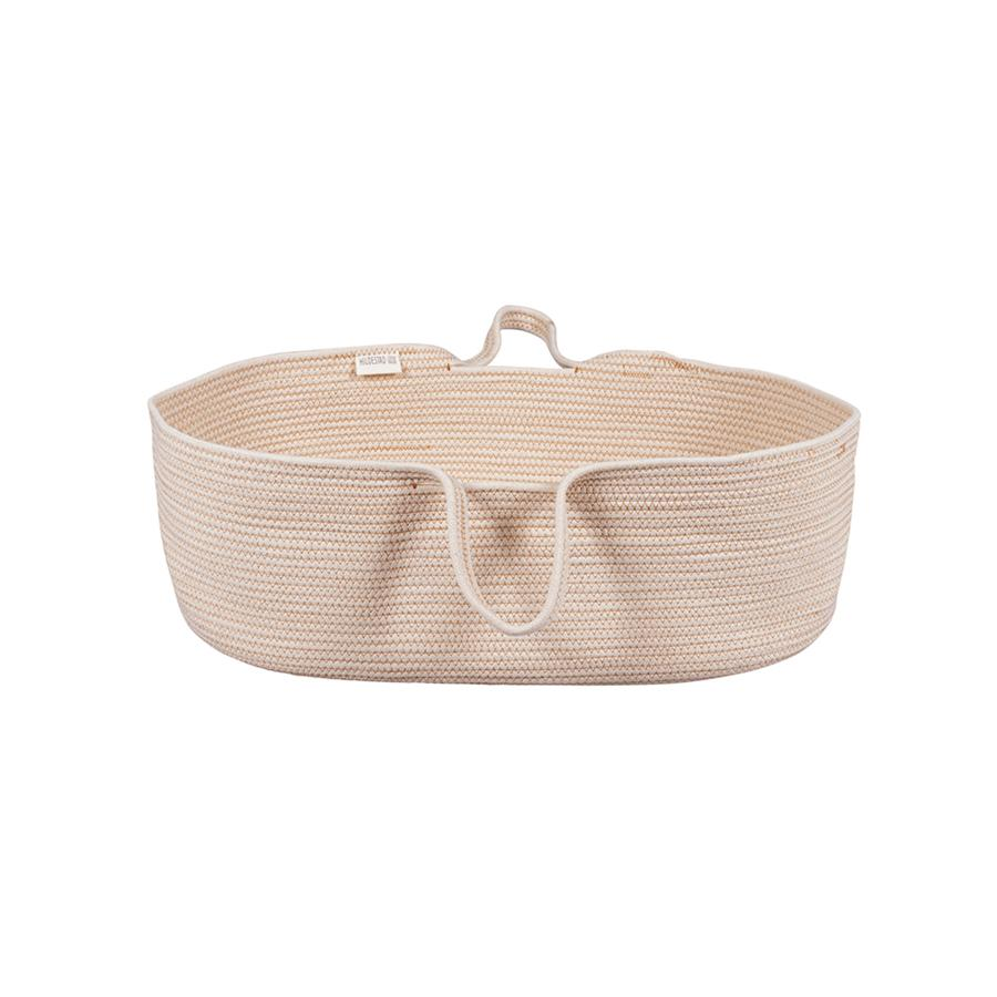"Moses Basket ""Rope Earth Yellow"""