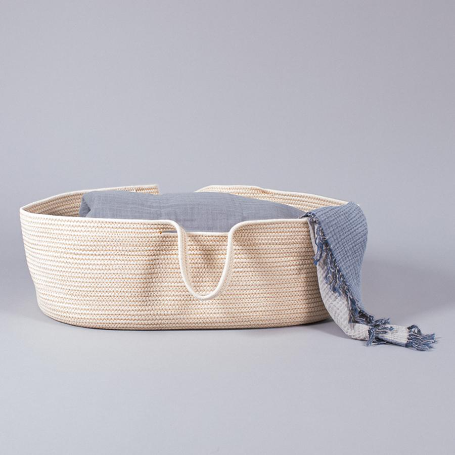 "Moses Basket ""Rope Natural"""