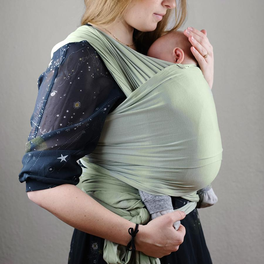 "Baby Sling ""Pistacchio"""