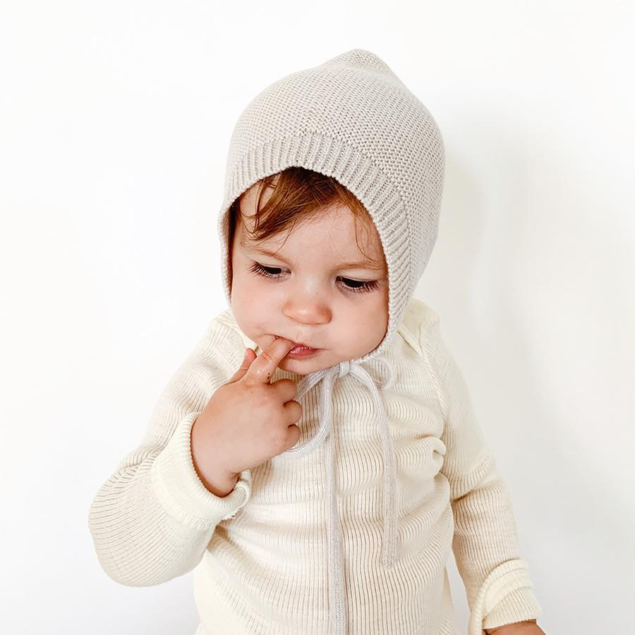 "Baby Bonnet ""Offwhite"""