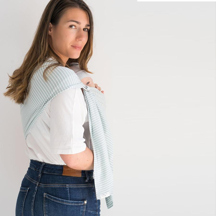 "Baby Sling ""Bahamas"" with one Loop"