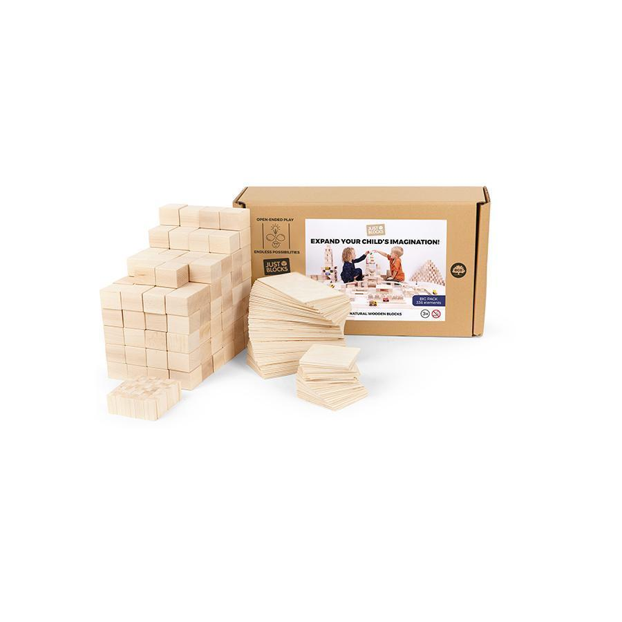 "Wooden Building Blocks ""Big Pack"""
