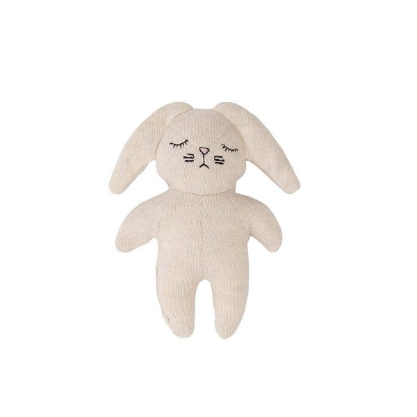"Baby Rattle  ""Mini Rabbit Offwhite"""