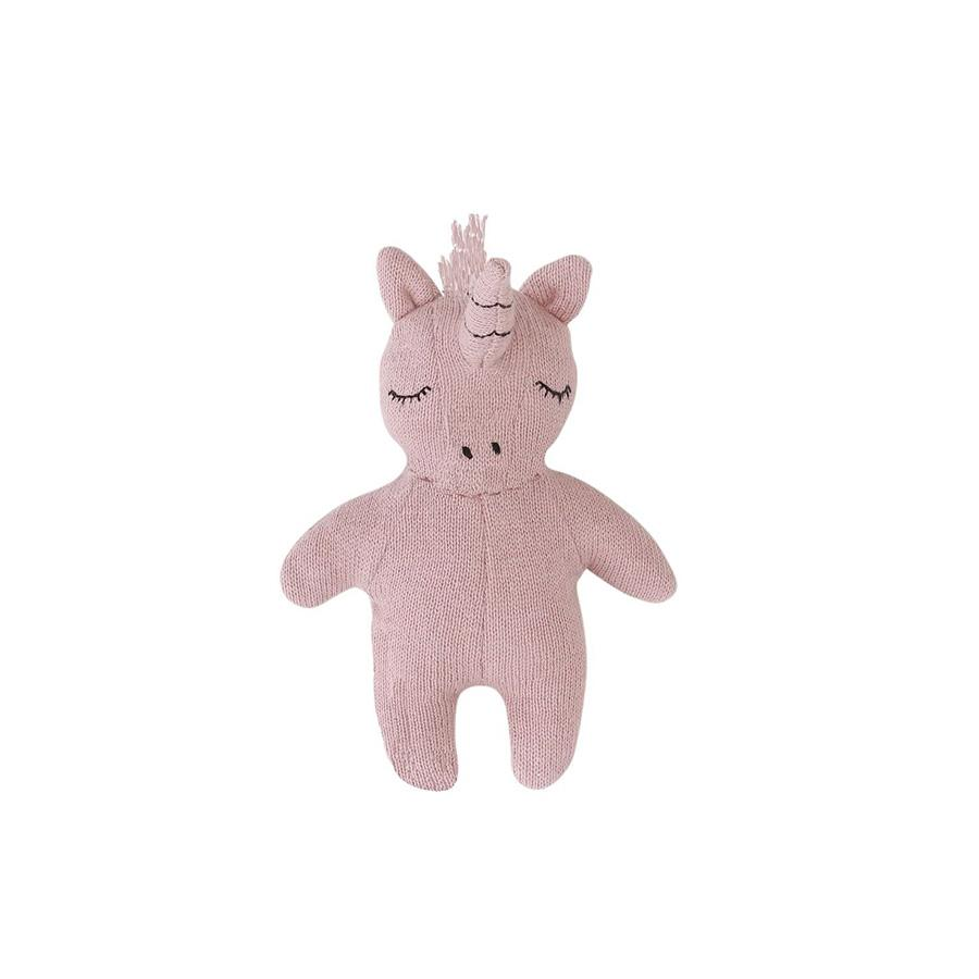 "Baby Rattle ""Mini Unicorn Rose"""